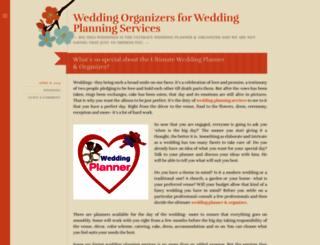 weddingorganizers.wordpress.com screenshot