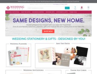 weddingpaperie.com screenshot