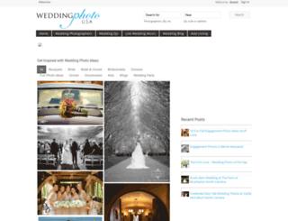 weddingphotousa.com screenshot