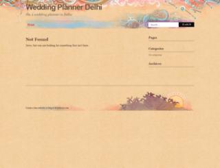 weddingplannerdelhi.wordpress.com screenshot