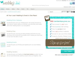 weddingplanninglink.com screenshot