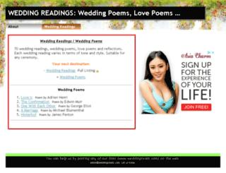 weddingreads.com screenshot