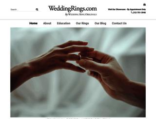 weddingrings.com screenshot