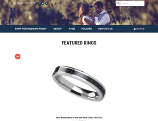 weddingrings.net screenshot