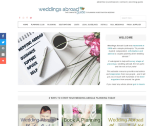 weddings-abroad-guide.com screenshot