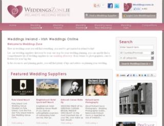 weddings-photographers-ireland.com screenshot