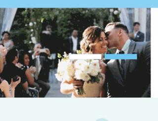 weddings.weddingchannel.com screenshot