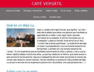 weddingsandbrides.cafeversatil.com screenshot