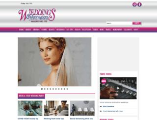 weddingshoneymoons.com screenshot