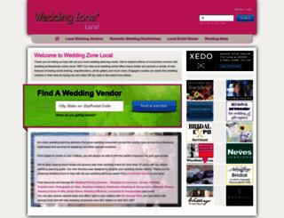 weddingzone.com screenshot