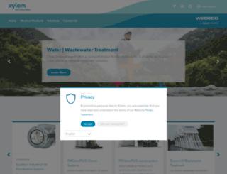 wedeco.com screenshot