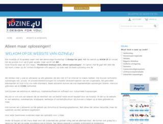 wedesign4you.nl screenshot