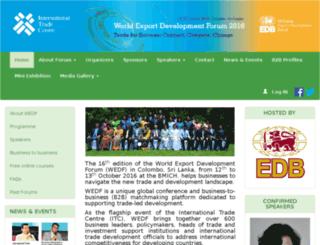 wedf.edb.gov.lk screenshot