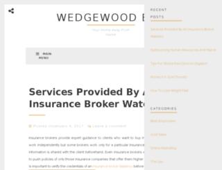wedgewoodbandb.com screenshot