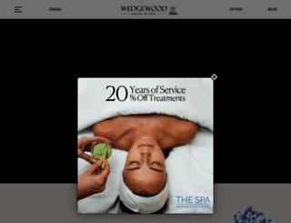 wedgewoodhotel.com screenshot