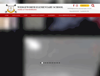 wedgeworth.hlpschools.org screenshot