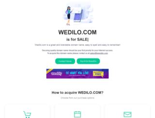 wedilo.com screenshot