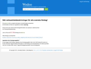 wedoo.se screenshot