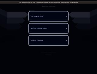 wedrive.com.au screenshot
