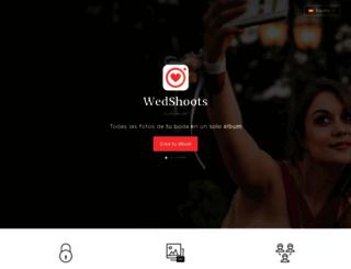 wedshoots.com screenshot