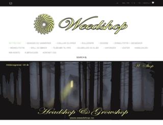 weedshop.no screenshot