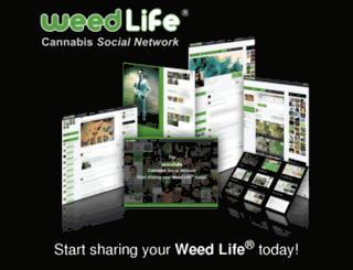weedsocial.org screenshot
