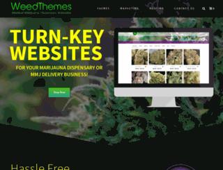 weedthemes.net screenshot