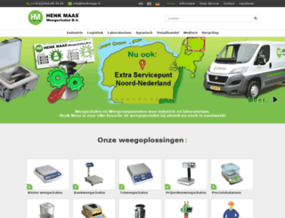 weegschalen.nl screenshot