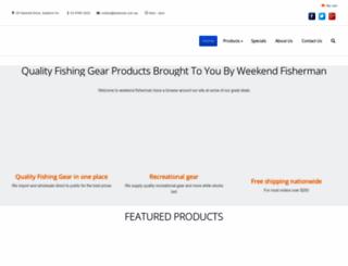 weekend-fisherman.com.au screenshot