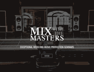 weeklong.mixwiththemasters.com screenshot