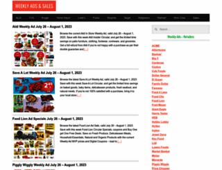 weeklyadsale.com screenshot