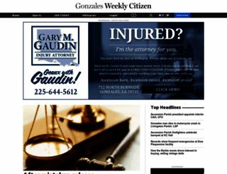 weeklycitizen.com screenshot