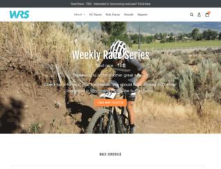 weeklyraceseries.com screenshot