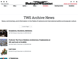 weeklystandard.com screenshot