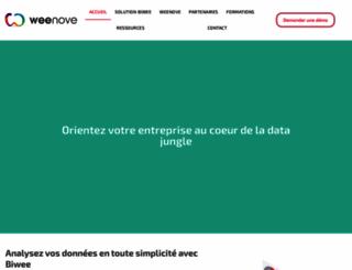 weenove.fr screenshot