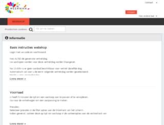 weerman.flowerwebshop.eu screenshot