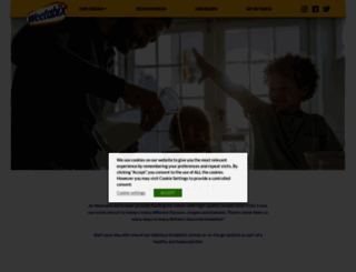 weetabix.co.uk screenshot