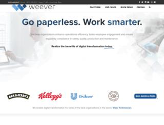 weeverapps.com screenshot