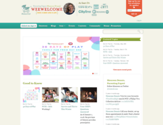 weewelcome.ca screenshot