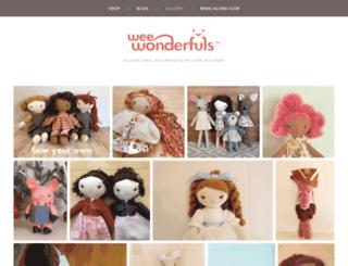 weewonderfuls.com screenshot