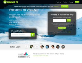 weezzi.com screenshot