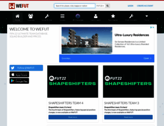 wefut.com screenshot