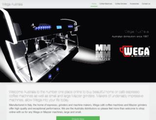 wega.net.au screenshot