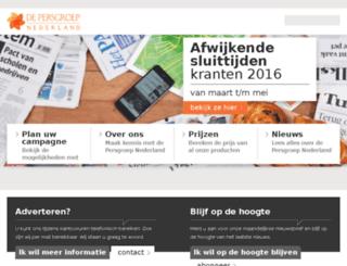 wegenermediaadverteren.nl screenshot