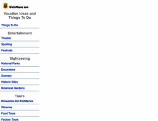 wegoplaces.com screenshot