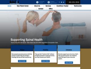 wegotyourbackchiropractic.com screenshot
