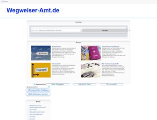 wegweiser-amt.de screenshot