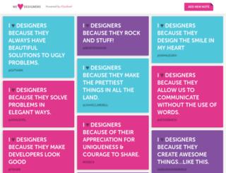 weheartdesigners.com screenshot
