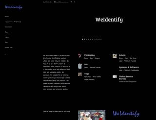 weidentify.com screenshot