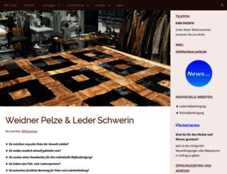 weidner-pelze.de screenshot